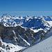 Schijenfluh inmitten anderer tausenden von Gipfeln