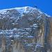 Das Gipfelkreuz der Sulzfluh