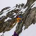 Aufstieg via Klettersteig