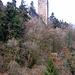 Burgruine Wieadingen hoch über dem Murgtal