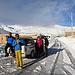 J2 - 8h du matin, 2500m d'altitude, -17° au thermomètre de la jeep. Pourtant 5 familles vivent là à l'année...