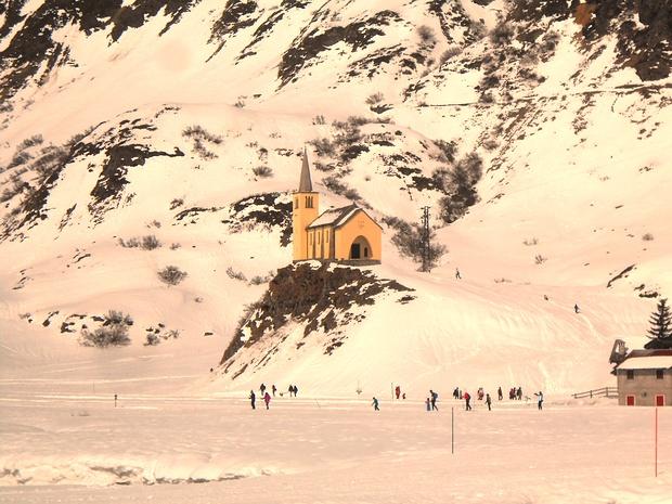 Sempre affascinante la chiesetta di Riale.