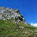Am Fuß der Südgrats (oben)
