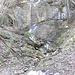Kleiner Schmelzwasserfall bei P1150.