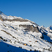 Ein Rückblick zur Lidernenhütte und zur Bergstation Gitschen