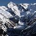 Il Lago di Luzzone ghiacciato e sullo sfondo la magnifica piramide del Piz Terri