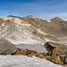 Eine Landschaft aus Eis und Schutt