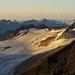 Ghiacciaio del Sabbione. Weit rechts im Bild ein Teil unseres Abstiegsweges vom Ofenhorn.