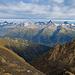 Blick ins Goms und zu den Berner Alpen