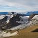 Mal wieder die Sicht zum Ofenhorn. Im Vordergrund sieht man den Rücken über den zum Blinnenhorn aufgestiegen wird.
