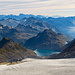 Nochmals im Überblick mit dem Griessgletscher im Vordergrund