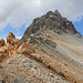 In der Teurilücke (2778m), dahinter das Steilerhorn