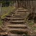 Die Stufen sind keine Erleichterung.