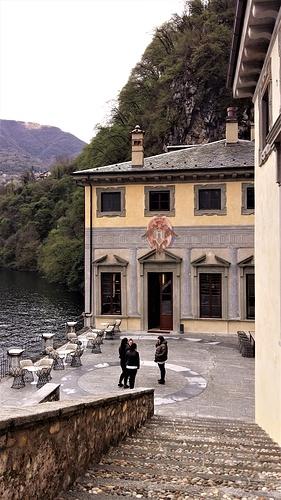 La Sala Rossini dall'esterno.