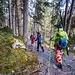Rebelote au retour - bon même à ski ce chemin n'est jamais très agréable...(image Hugo)