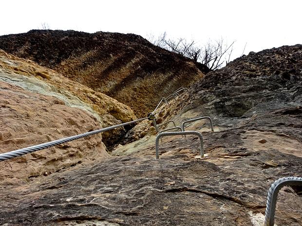 Klettersteig Känzele : Känzele klettersteig m u tourenberichte und fotos hikr