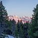 Bei der Hohganthütte: Sonnenuntergang ....