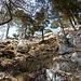 im Abstieg vom Chrummhorngipfel ...