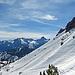 auf diesem Bild sieht man die Steilheit in Richtung dem Schillerkopf deutlich, in diesem immer weicher werdenden Schnee wäre das eine rechte Tortur.