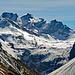 gezoomt auf die Bergstation Lünerseebahn mit im Hintergrund den Kirchlispitzen