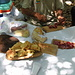 ...ragazzi......... che bonta!!!<br />pranzo  di prodotti locali offerto dalla ns. guida  Cipriano.