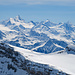 Nordend bis Matterhorn