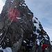 Schritt um Tritt dem Gipfel entgegen.