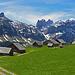 fast ein kleines Dörfchen auf der Alp Sigel