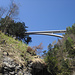hoch oben die Brücke bei Pfäfers