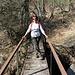 Eccoci di nuovo alla passerella sulla Margorabbia.