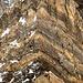 Interessante geologische Strukturen am Chli Tödi