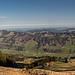 Schöner Blick von der Eckhalde zur Salmaser Höhe.