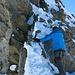 Kraxelei auf dem Gipfelgrat