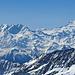 Blick Richtung Dufourspitze und Simplongebiet