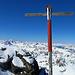 auf dem Gipfel, Blick Richtung Westen