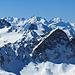 Im Hintergrund das Bernina-Gebiet