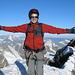 Ein grosser Traum ist für mich in Erfüllung gegangen! Ich stehe auf dem höchsten Punkt des Matterhorns 4478m. Auf dem Schweizer Gipfel, der 1m höher ist als der Italiener Gipfel :-)