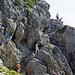 eine schöne Treppenwanderung hinauf zum Garsellikopf