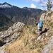 Siamo quasi all'Alpe di Luarn.