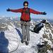 Ein grosser Traum ist für mich in Erfüllung gegangen! Ich stehe auf dem höchsten Punkt des Matterhorns 4478m. Auf dem Schweizer Gipfel.