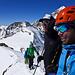 Top of Mont Durand mit Pointe de Zinal
