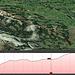 Meine GPS Aufzeichnung (Leider habe ich vergessen auf dem Kronberg das GPS Signal abzustellen, die Fahrt mit der Bahn zur Talstation ist demzufolge auch aufgezeichnet worden und auf dem Bild und auf der kml Datei)