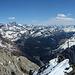 Blick nach Italien ins Val Malenco