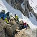 Aufstieg zum Gipfel der Cima di Val Bona