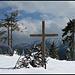 ... Gipfelkreuz auf dem Rosengarten
