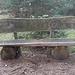(227) Im Perlacher Forst, Gemeinde Unterhaching, Kreis München. Oft stehen Bänke ohne Aussichten ganz dicht neben Bänken mit Aussichten. Hier zunächst eine Bank ohne Aussichten, die aber (siehe Einkerbungen) gerne besucht wird. Vielleicht ist sie...  BANK 93 (ohne Aussichten) von: [u shanB]