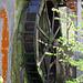 Das alte Mühlenrad in Trichtenhausen.