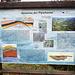 Eine von mehreren geologischen Schautafeln.