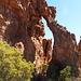 neben der Stadsaal-Höhle gibt es jede Menge bizarre rote Felsen