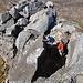 über diesen schmalen Fels ersteigt man den Schlussakkord